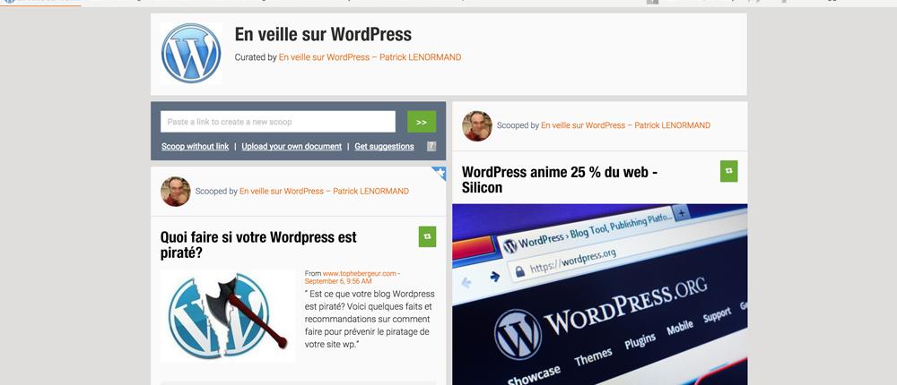 En veille sur WordPress